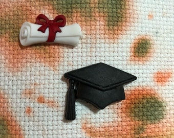 Graduation Cap or Diploma Needle Minder