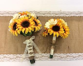 Wedding Bridal Bouquet Set