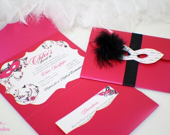 Masquerade Invitation 30