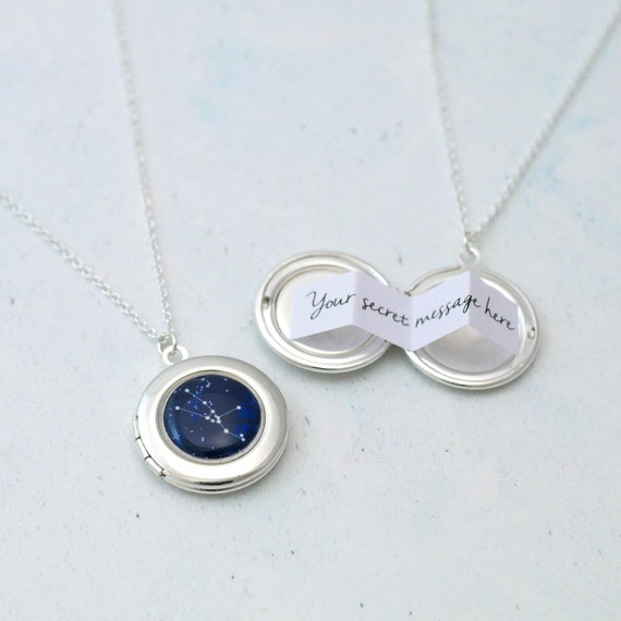 Personalised Zodiac Constellation Locket