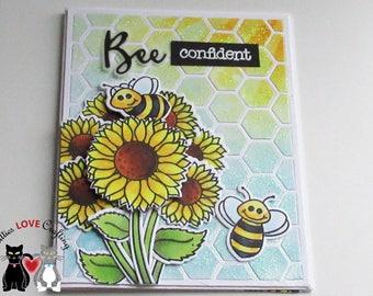 Bee Encouragement Card