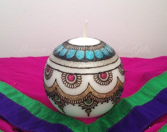 Mehndi For Candles : Wedding candles holders etsy ca