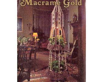 Macramé Gold - 15 Vintage Macrame Patterns Instant Download PDF 31 pages