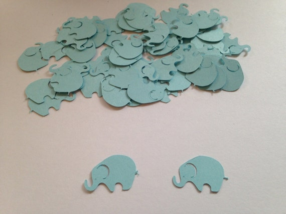Blue Elephant Confetti   Elephant Cut Out   Elephant Baby Shower   Boy Baby  Shower   Elephant Theme   Elephant Party   Elephant Decorations From ...