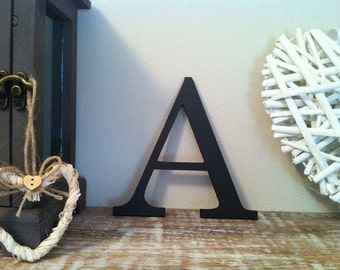 Wooden Wall Letter 'A' - Any Colour - 12 inch, Roman Font
