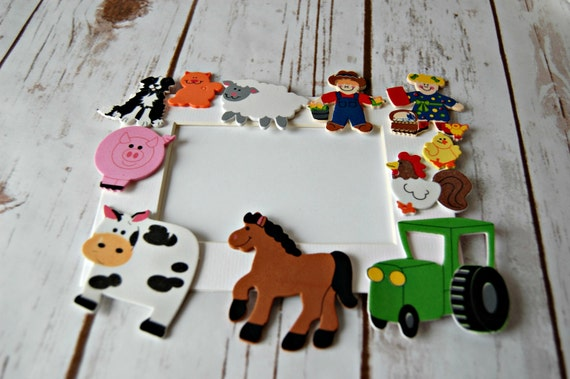Granja temática Craft Kit, imán artesanal, actividad de fiesta ...