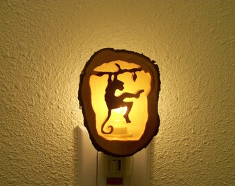 Swinging Monkey nightlight
