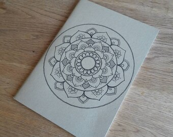 A5 mandala sketch pad