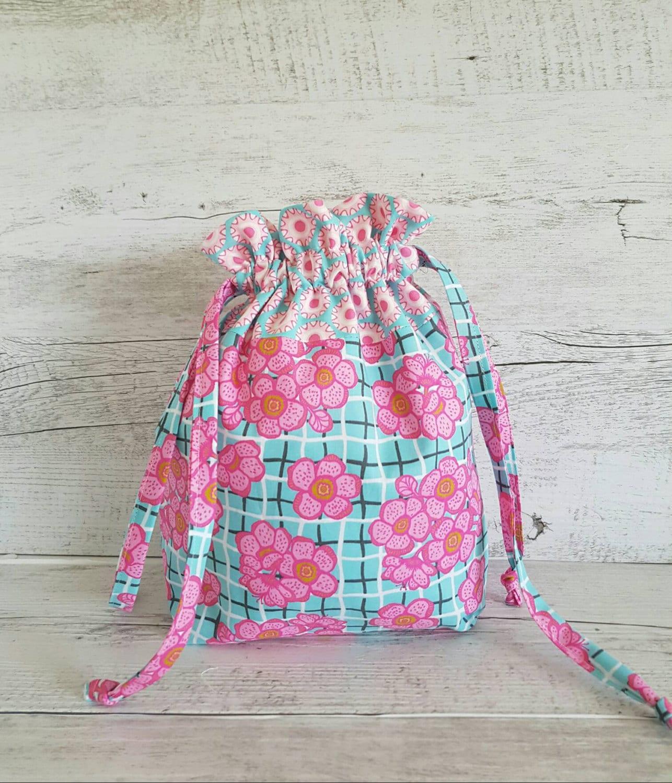 Strickprojekt Tasche Tasche Nähen Tasche Kulturbeutel