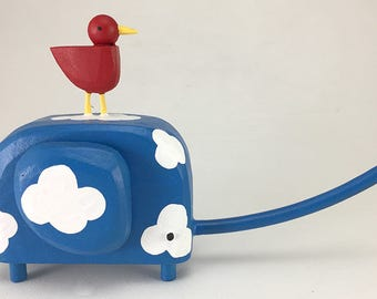 elephant sculpture | elephant figurine | birthday gift | new baby gift | wedding cake topper | custom elephant | modern elephant