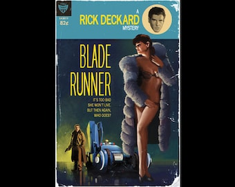 Blade Runner Pulp Cover (two sizes)