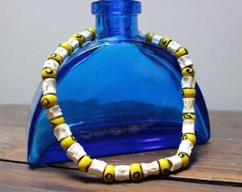 Vintage shark vertebrae necklace