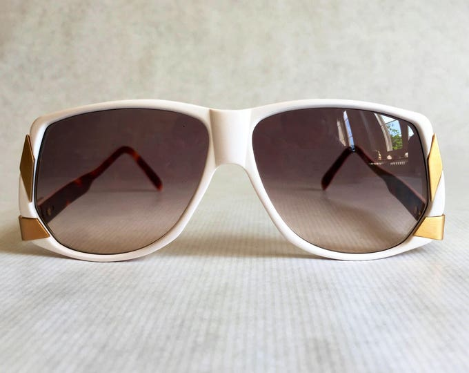 Alpina Genesis Project G83 24K Gold Plated Vintage Sunglasses Made in West Germany New Old Stock