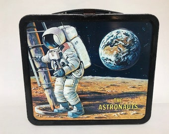 1969 The Astronauts Lunch Box No Thermos