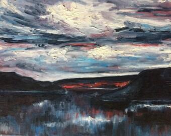 SALE: Original Painting - Mood Swing