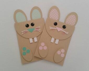 Handmade Easter Bunny Card | Easter Card | Bunny Card