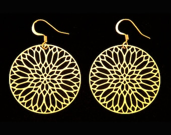 Amien Cathedral Gothic Earrings