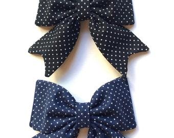 School Girl Bow Polka Dots