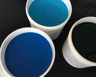 Large Size Marbling Paint Single Jars 6-oz. in 30 Colors Marbled Paper Marbling Supplies With Instructions & Tips