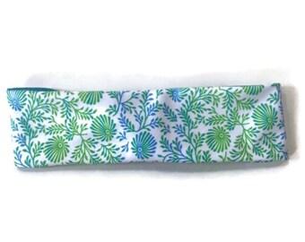 Shell Floral Headband - Workout Headband - Wicking Headband - Nonslip Headband - Gifts for Teachers - Bandana Sweatbands for Women