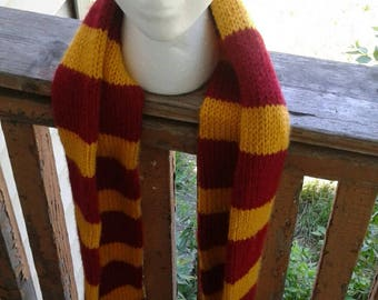 Harry Potter Griffindor  inspired scarf