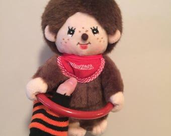 1990s Monchichi monkey plush