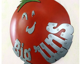 Big Uns Tomato Sign By Guy & Patty Sparger OOAK
