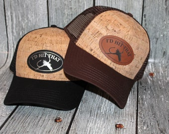 Fishing, Cork, Fishing gifts for him, Fisherman, Pacific Northwest, Fishing Gifts, I'd Hit That, Fly fishing, lake life, camper, camping hat