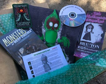 The November Cryptid Crate - The Flatwoods Monster Crate