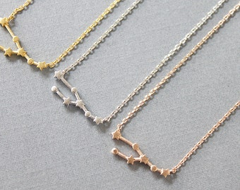 Taurus Necklace Zodiac Necklace Taurus Zodiac necklace Constellation Jewelry Gift for Friends