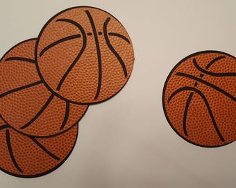 Basketball Die Cut Outs