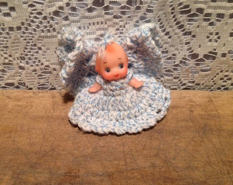 Mini Kewpie Angel Doll
