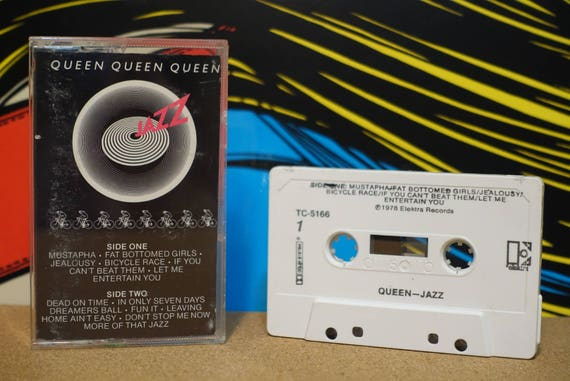 Jazz by Queen Vintage Cassette Tape