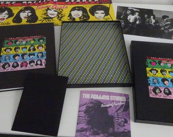 The Rolling Stones - Some Girls... 2 x CD / DVD / Poster / Cards / Book ...Super-Deluxe Box Set