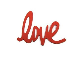 Love Paper Cut Out set of 20