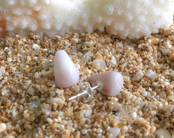 Cone Shell Sterling Silver Stud Earring, A