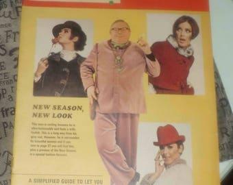 Vintage (c. September 21, 1968) Windsor Star Weekend Magazine issue.  Great vintage ads. Fashion section, recipes, vintage sports.