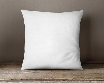 1 Piece 18X18 Throw pillow insert only for our 16x16 pillow Cases, Add quantity for additional inserts.