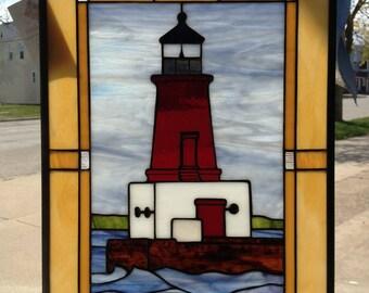 Menominee North Pier Light House