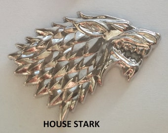 House Stark Right Facing 3D Pin Game of Thrones