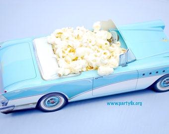 Classic Car Food Boxes | 1950's Party Favor Boxes | Kids Food Boxes | Vintage Car Food Tray | Car Centerpieces | Car Favor Box