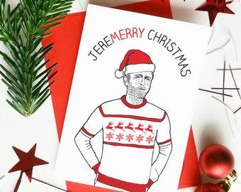 Jeremy Corbyn Christmas Card | Christmas Puns |