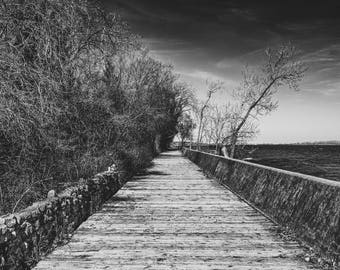 Toronto Island Boardwalk