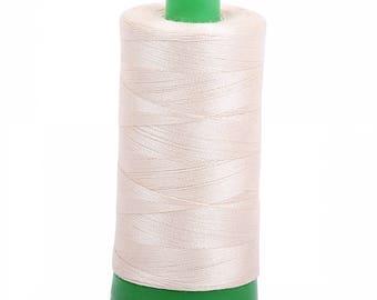 Aurifil 40wt Thread - Light Beige 2310 - 1094 yards, 1000 Meter