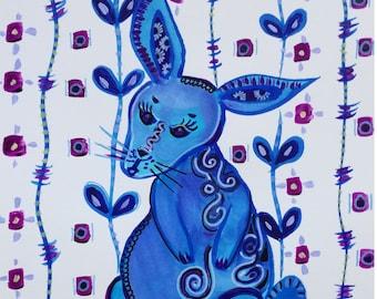 Rabbit tatoo