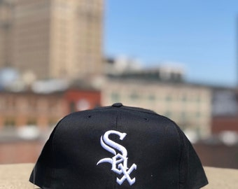 1980s Chicago White Sox Snapback New Era MLB Hat NWT