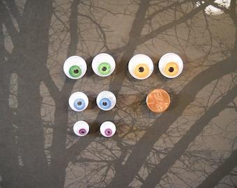Monster Googly Eyeball magnets