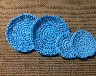 Eye and Face Scrubbies