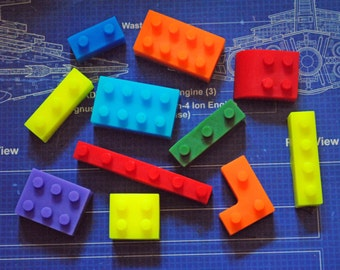 Brick Type Soap x 11 - assorted shapes