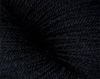 Cascade Yarns Heritage Silk 16.45 (reg. 17.55) in 5672 Real Black